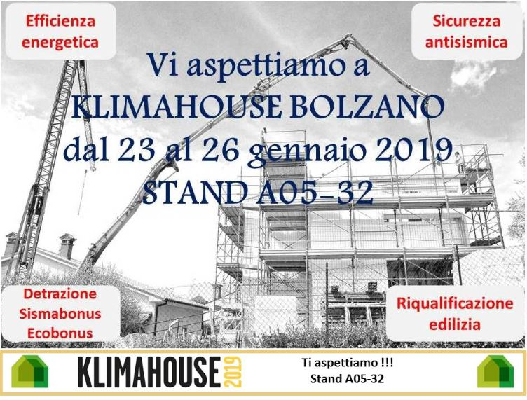 Ecosism a Klimahouse 2019