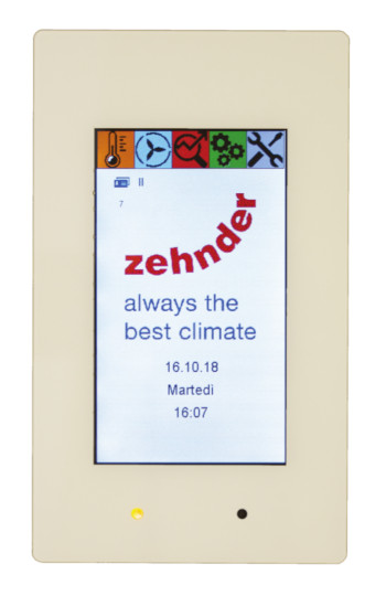 Zehnder Touch Panel