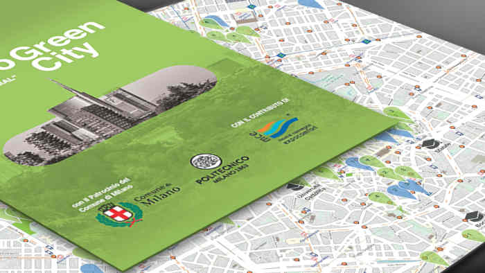 Milano Green City Map