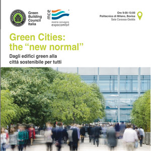 "Green Cities: the ""new normal"""