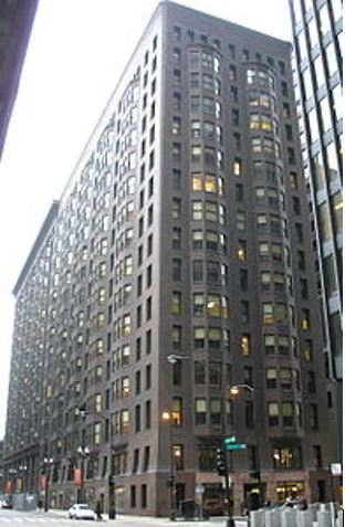 Monadnock Building a Chicago