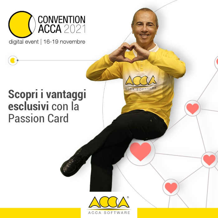 Passion Card-Convention Acca