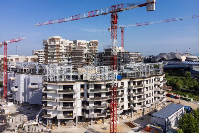 Cantiere Residenze Libeskind II